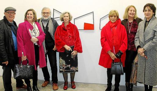 Ángel Terrón, Magdalena Cánaves, Tomeu Ventayol, María Dolores Martínez- Echevarría, Benita Ramón, Águeda Ropero y Neus Cortés.