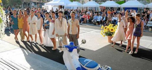 Una imagen del cierre del desfile celebrado en 2017 en Ibiza en conmemoración de este movimiento internacional.