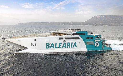 La duración de los trayectos con Eivissa, Ciutadella y Palma pasa de 3,5 a 2 horas.
