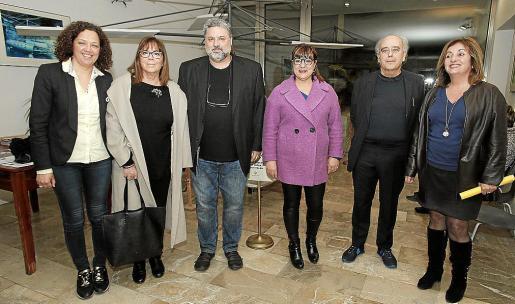 Catalina Cladera, Maria del Mar Bonet, Miquel Bezares,Bel Busquets, Josep Lluís Mateo y Fanny Tur.