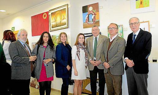 Raúl Izquierdo, Pazik Smahane, Águeda Ropero, Eva González, Juan Cifuentes, José Escalas y Pedro Comas.