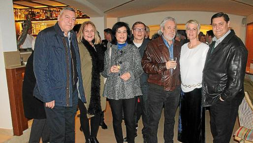 Juan Cifuentes, Águeda Ropero, Isabel Gomis, Dimitri Ploskov, Raúl Izquierdo, Aina Aguiló y Sebastià Barceló.