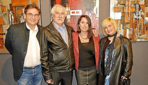 Christian Sandan, Joan Gibert, Candela Alcíbar y Ada Martínez.