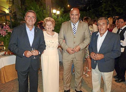 Pere Rotger, María Fullana, Jaime Martínez y Pedro Iriondo.