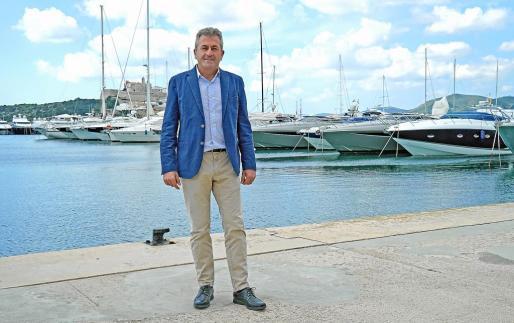 Pepe Roselló es el director del puerto deportivo Marina Botafoch.
