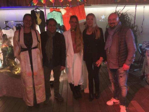 Jose, Mónica, Elke y Eduardo || Acid Sundays – Heart Ibiza