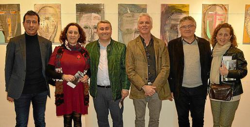 Gabriel Abraham, Marixé Fernández, Virgilio Moreno, Joan Miquel Arrom 'Sasai', Antoni Rodríguez y Antònia Sabater.
