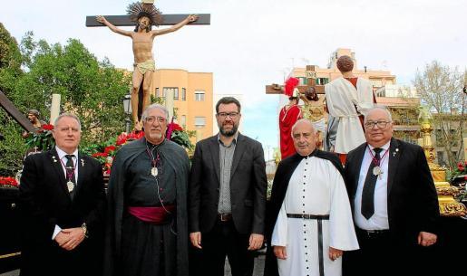 Pedro Alfonso Medina, Miquel Llabata, Antoni Noguera, Pep Serra y Joan Galvez.