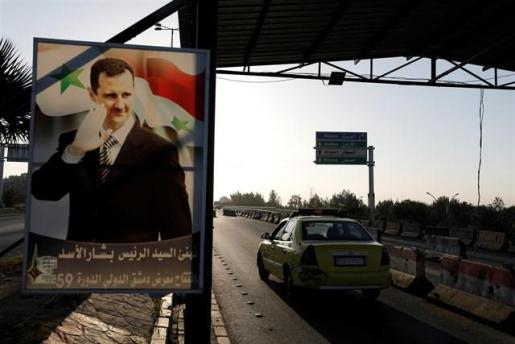 Al Assad recibe a una delegación de parlamentarios rusos tras el ataque militar de EEUU, Reino Unido y Francia.