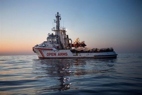 La justicia italiana libera el barco de la ONG Pro Activa Open Arms.