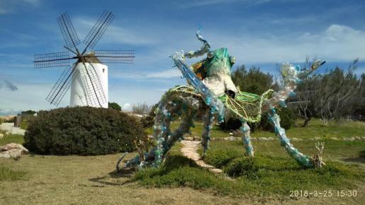 El Pulpo Proartso Punta des Moli Sant Antoni 2018 25-03-2018