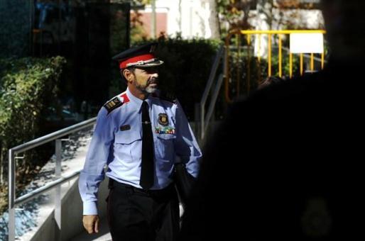 Trapero puso a los Mossos a disposición del TSJC el día de la DUI.