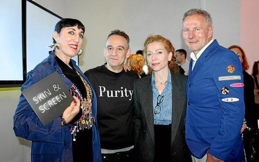 Rossy de Palma, Enrique Baeza, Mercedes Estarellas y Gerhardt Braun.