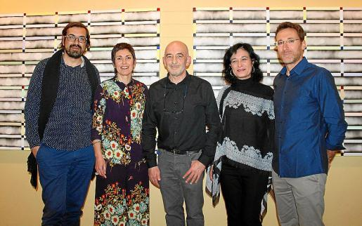 Sebastià Mascaró, Francisca Niell, Joan Soler, Isabel Gomis y Óscar Alonso Medina.