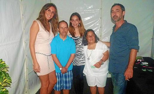 Maria José Mora, Pep Martí, Lorena Ares, Bárbara Lladó y Juan Parera.