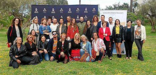 Foto de los diseñadores participantes en la edición de este año en los distintos eventos de Adlib Moda Ibiza 2018 ayer en el Hotel Pacha.