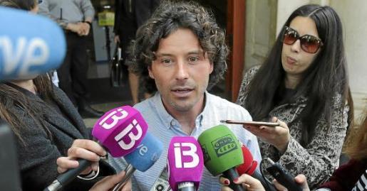 Jaume Garau compareció durante más de hora y media ante el juez instructor del caso, asistido por su abogada, Carolina Ruiz. Ha sido la declaración más larga de todos los investigados en la causa que arrancó con una querella de la Fiscalía.