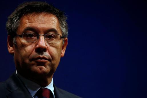 El presidente del F.C. Barcelona se separa tras 20 años de matrimonio.