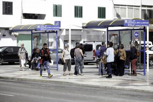 Las líneas que conectan con Santa Eulària y Sant Antoni son las mejor valoradas por los usuarios.