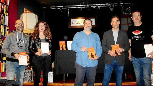 Antoni Xumet, Aina Sastre, Jesús Jurado, Miguel Horrach y Josep Lluís Roig.