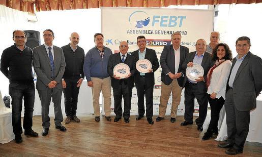Toni Bauçà, Salvador Servera,Jaume Mateu, Josep Maria Cardona, Lucas Costa, Tofol Vidal, Rafel Roig, Toni Vidal, Isidro Bellota, Pepa Marí y Toni Sansó.