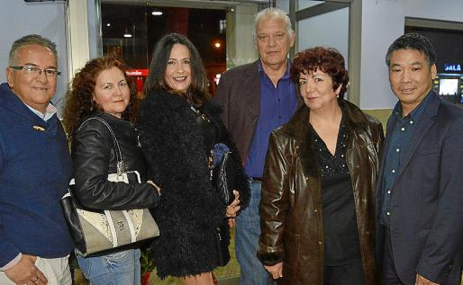 Fernando Caicedo, Teresa Toro, Isabel Zamundio, Damián Vich, Soledad Millán y Wenmin Ye.