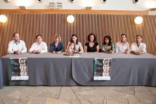 Rueda de prensa IV edición Contra el Cáncer en el Palau de Congressos de Santa Eulària