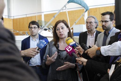 Francina Armengol, ha manifestado este viernes, después de que se conociera la sentencia de 'La Manada', su «apoyo total y absoluto» a la víctima.