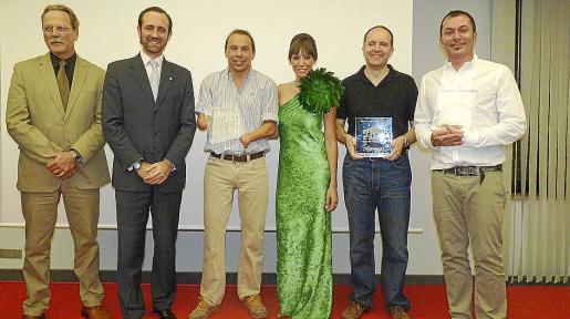 Miguel Borrás, José Ramón Bauzá, Xavi Torres, Virginia Quetglas, Patxi de la Asunción y Agustín Martínez «El casta».