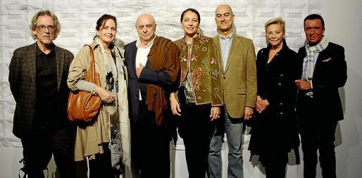 Pepe Cañabate, Pilar Ribal, Joan Guaita, Dolores Ripoll, Federico Martínez-Carrasco, Cecil Sandberg y Jaime Colomar.