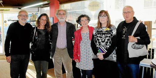Miguel Ángel Sancho, Neus Farrés, Ferran Aguiló, Alicia Llabrés, Maria del Mar Bonet y Joan Manresa.