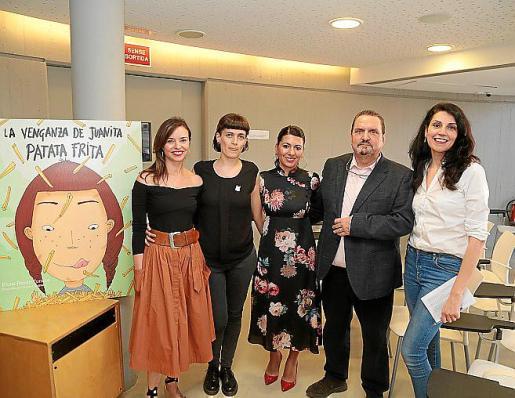 Elena Benito, Maria Cuadrado, Carme Coll, Guillem Rosselló y Gemma Marchena.