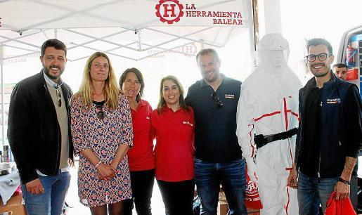 Albert Luna, Remeis Marqués, Eulalia Villá, Maribel Pedrón, David Villar y Vicente Martínez.