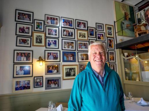El restaurante de Ca n'Alfredo significa toda una vida para Joan Riera y su familia.