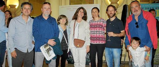 Pedro Rullán, Lluc García, Carmen Ruiz de Galarreta, Ángela Moreda, Paula Serra, Miguel Rullán, Jesús Boyero y Pau Rullán.