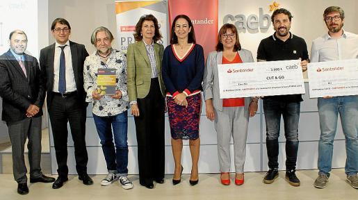 Cosme Bonet, Iago Negueruela, Manuel Granero, Carmen Planas, María José Maciá, Bel Busquets, Félix García y Xavier Gil.