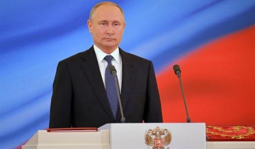 Putin asume la Presidencia de Rusia para un cuarto mandato de seis años.