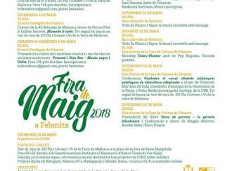 Felanitx celebra la Festa del Callet y la Fira de Maig 2018