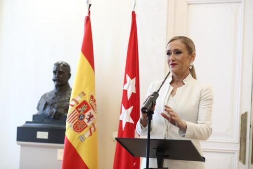 La jueza cita como investigada a Cristina Cifuentes en el caso del máster.