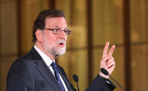 El presidente del Gobierno, Mariano Rajoy, en un acto celebrado este viernes en Cádiz.