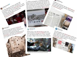 Aluvión de felicitaciones a Ultima Hora por su 125 aniversario