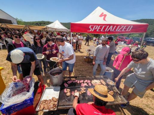 La jornada matinal de ayer en Can Pere Marí de Baix en Rafal Trobat resultó todo un éxito de participación y organización.