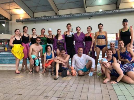 Los participantes del programa Un mar de posibilidades que acudieron a Madrid.