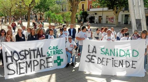 La campaña informativa tuvo lugar ayer por la mañana en el Paseo Vara de Rey de la ciudad de Ibiza.