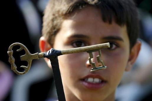 Los palestinos conmemoran los 70 años de la 'Nakba'.