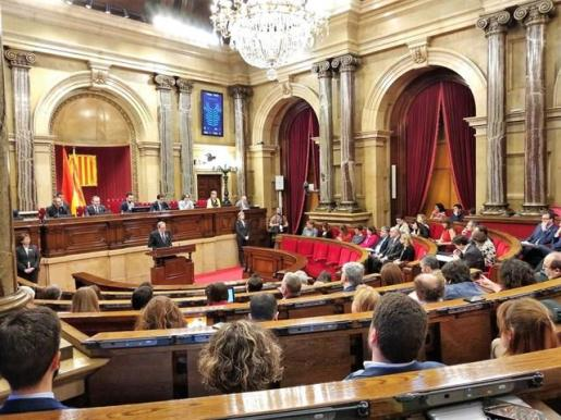 Torra promete recuperar 16 leyes catalanas recurridas por el Gobierno y suspendidas por el TC.