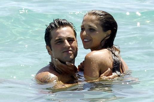 David Bustamante y Paula Echevarría de vacaciones en Ibiza.