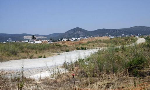 Terrenos del Grupo Empresas Matutes en Platja d'en Bossa.