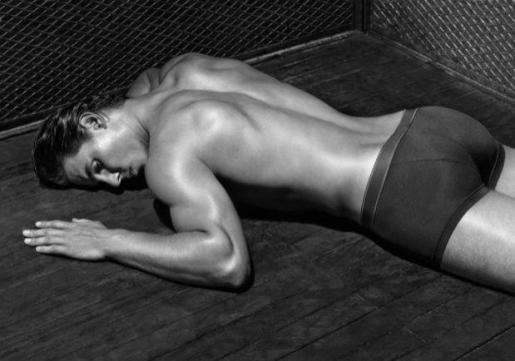 Rafael Nadal se ha convertido ya en un experimentado modelo.