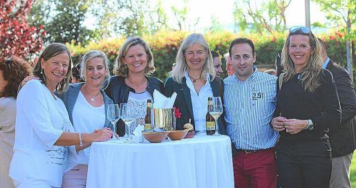 Christine Gottschalk, Heike Friese, Annette Schattenberg, Silke Wittstock, Marcos Iriondo y Sonja Thiele.